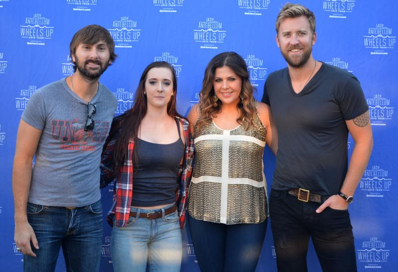 request meet and greet for lady antebellum